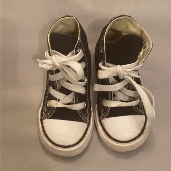 Converse Shoes   Baby Boys Size 6 Black